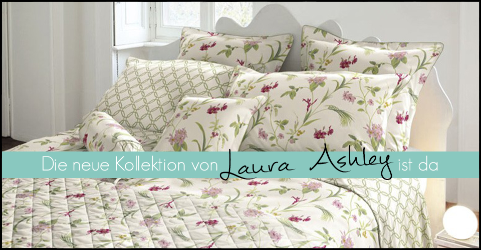 laura ashley bettw sche kollektion fr hjahr sommer 2015. Black Bedroom Furniture Sets. Home Design Ideas
