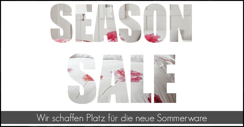 Season Sale im Online-Shop von Schlaf und Raum