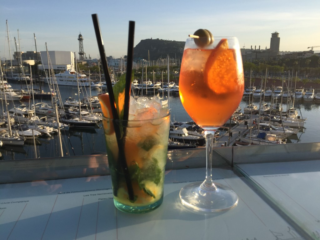 Cocktail at Port Vell