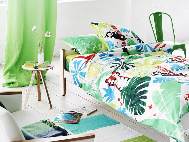 Designers Guild Kinderbettwäsche JUNGLE PLAYTIME