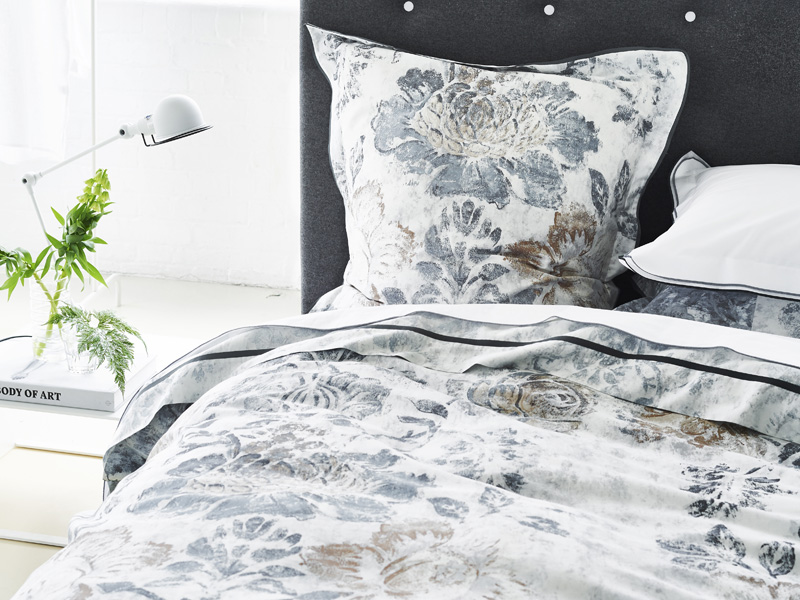 "Designers Guild Bettwäsche ""Damasco Graphite"""