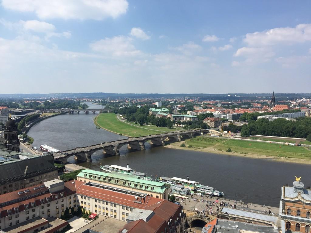 Blick von der Dresdner Frauenkirche