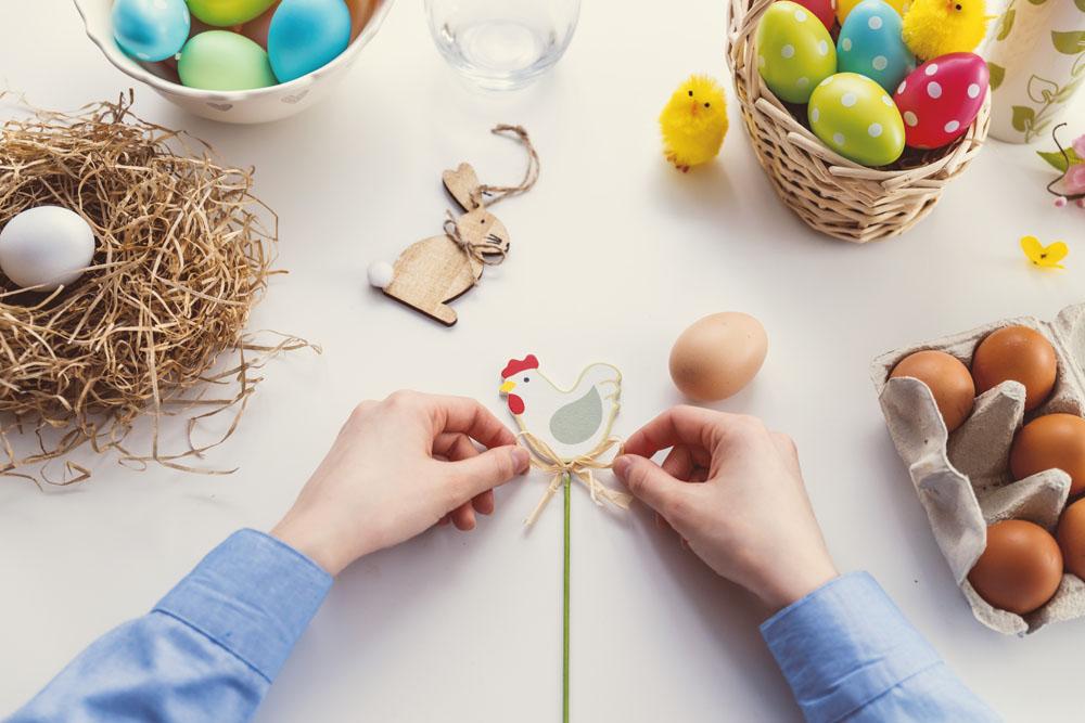 Ostern backen und basteln