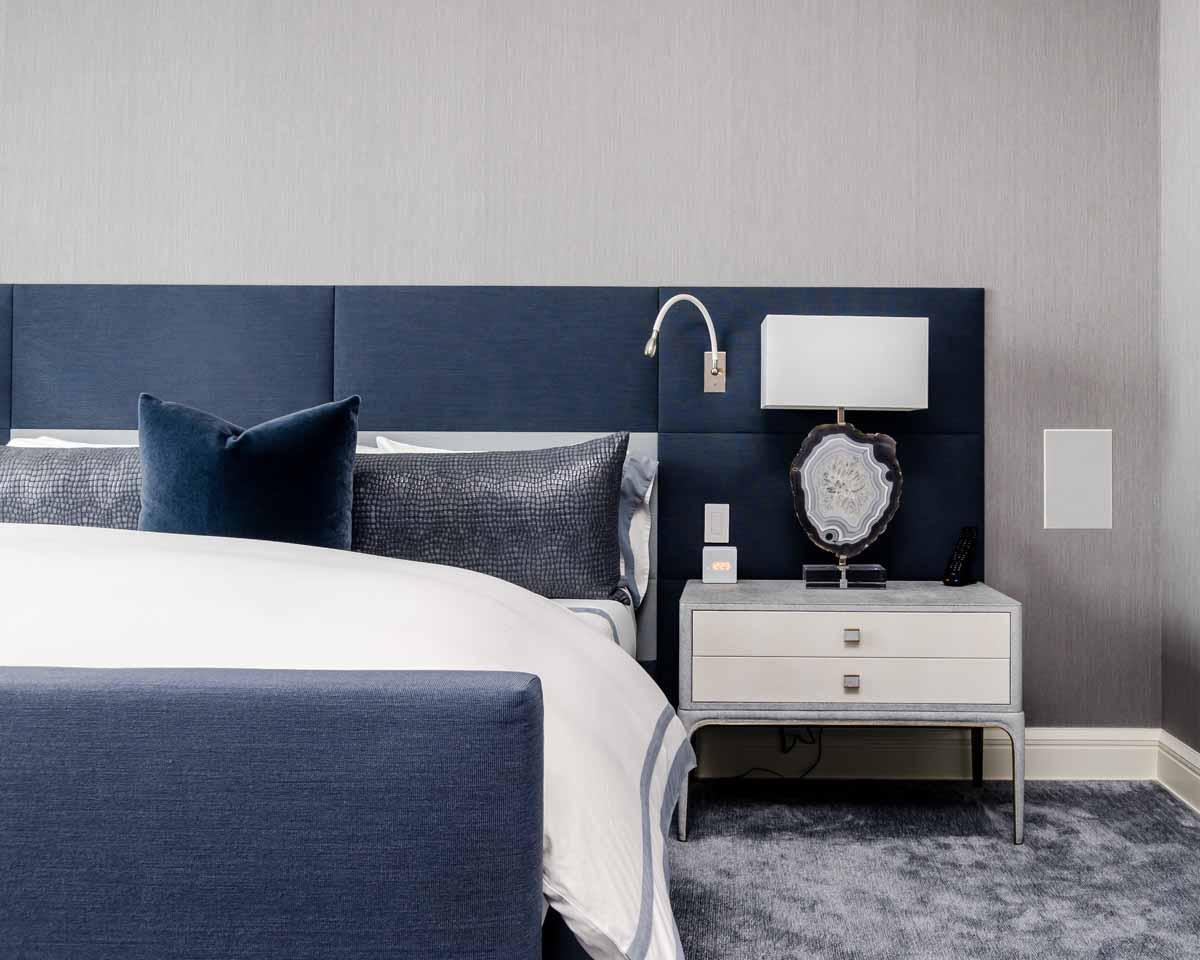 Schlafzimmer in Blau einrichten