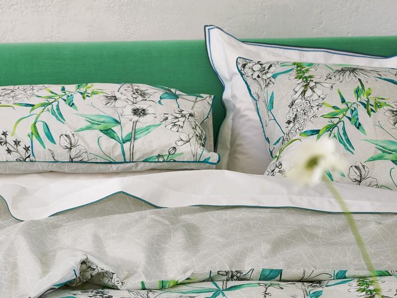 Designers Guild Bettwäsche grün