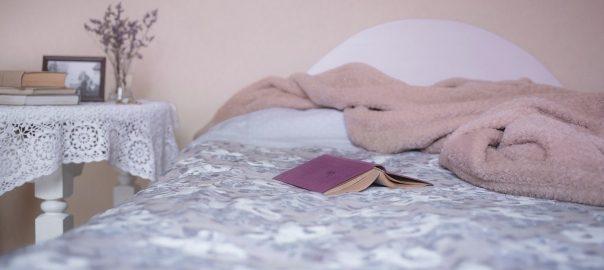 Lavendel auf dem Nachtkästchen